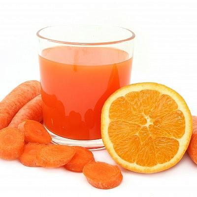 מיץ תפוז גזר