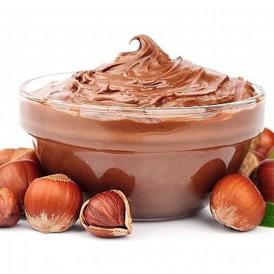 ממרח שוקולד ואגוזים