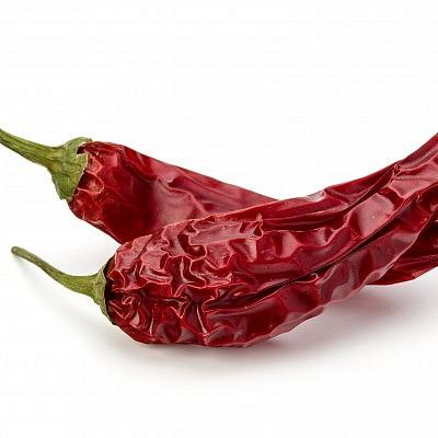 פלפלי צ'ילי אדומים יבשים