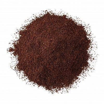 אבקת קפה שחור